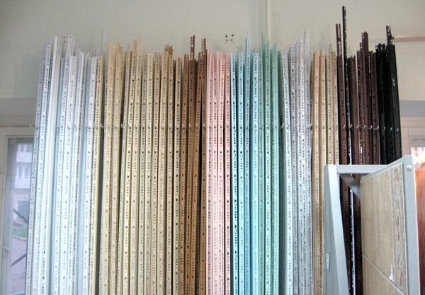 Планки для укладки плитки