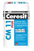 Клей для керамической плитки и керамогранита Ceresit СМ 11 Plus