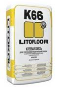Плиточный клей для керамогранита, керамики и камня Литокол LitoFloor К66