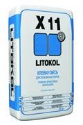 Клей для плитки усиленный Литокол Litocol X11