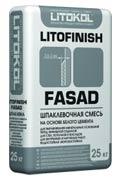 Шпаклевка фасадная Литокол LitoFinish Fasad