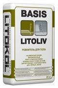 Ровнитель для пола цементный Литокол LitoLiv Basic
