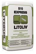 Cмесь для пола cамовыравнивающаяся Литокол LitoLiv S10 Express